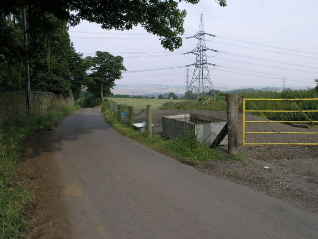 Pylons and a Trough
