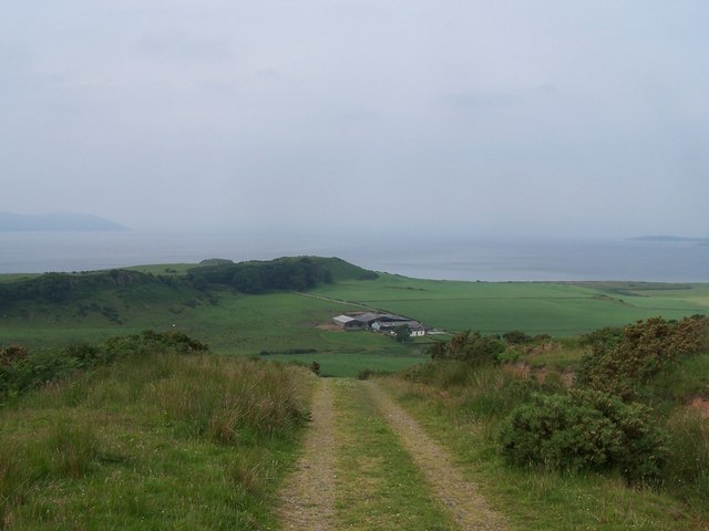 Bute, View from Communication Mast