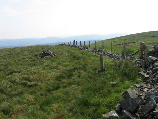Southern Upland Way on Laght Hill