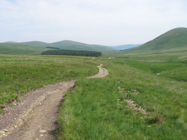 Durisdeer track
