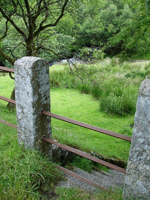 Stile at Two Bridges, Dartmoor