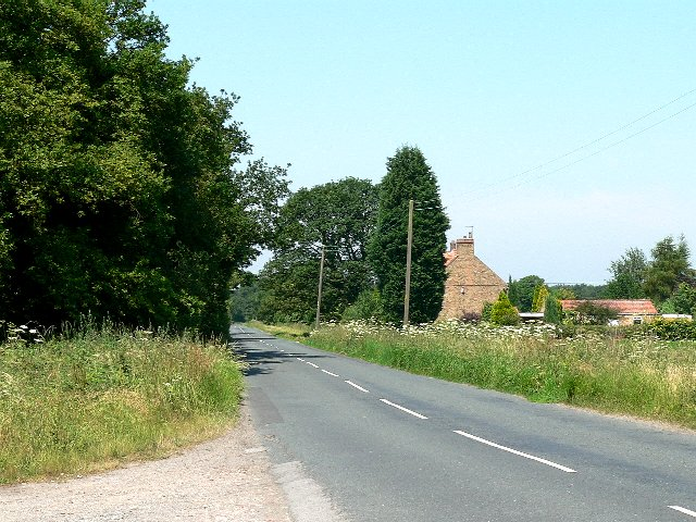 The Road from North Duffield to Skipwith