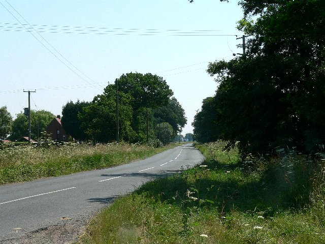 The Road from Skipwith to North Duffield