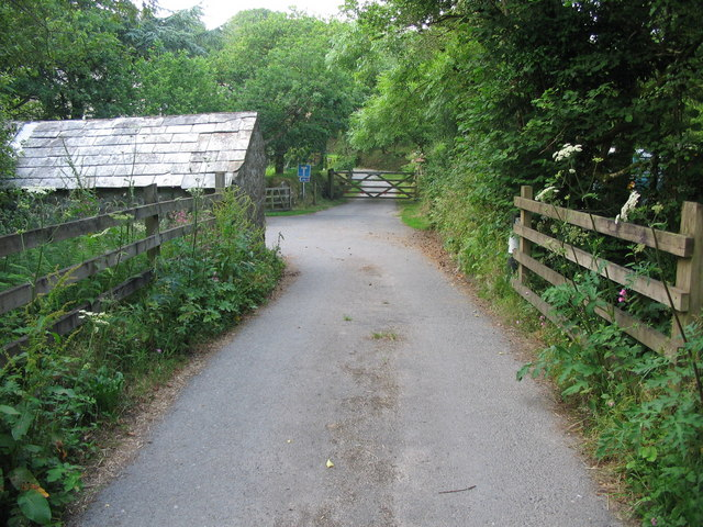 Approaching Roseny Mill