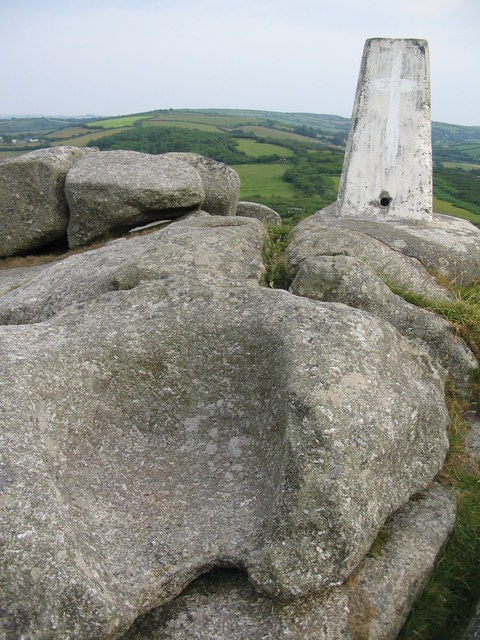 The throne on Helman Tor
