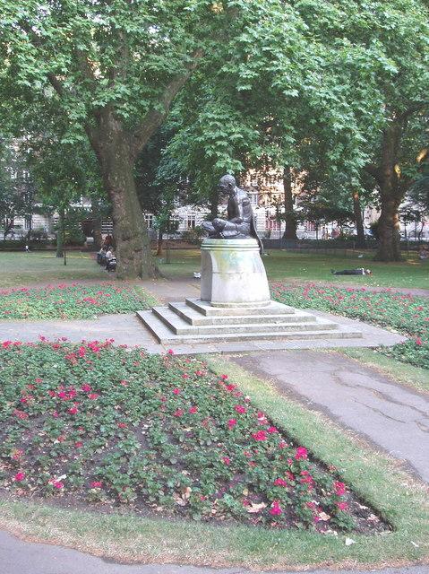 Statue of Gandhi, Tavistock Square Gardens, London