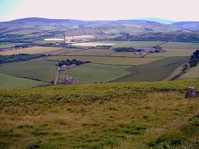 Knockaloe from Corrins Hill, Isle of Man