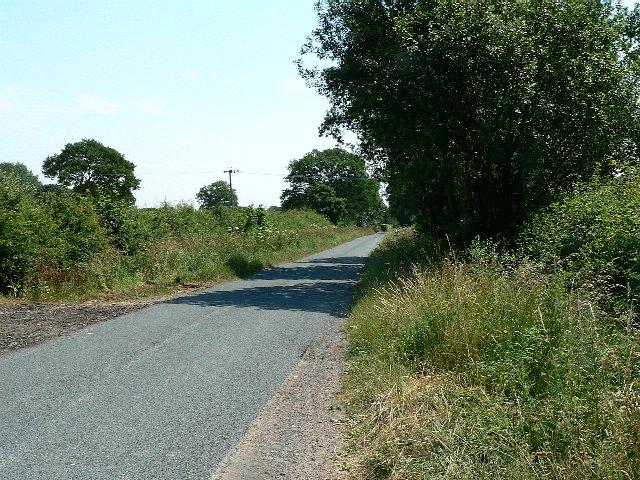 Greengate Lane towards South Duffield