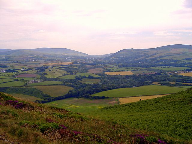 On Corrins Hill, Isle of Man