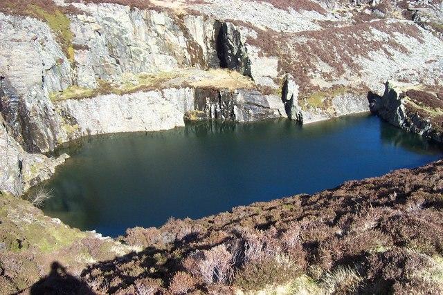 Moel Siabod Quarry Pool