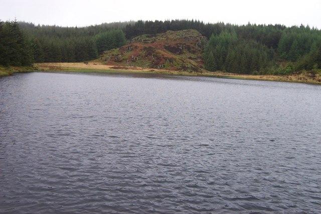 Reservoir near Blaenau Dolwyddelan