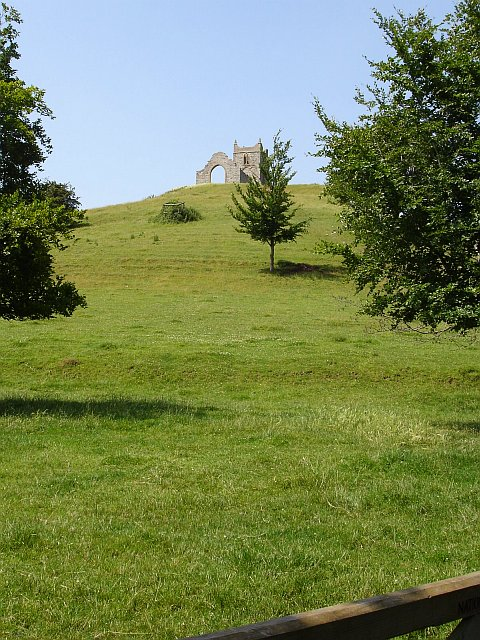 Burrow Mump (hill hill)