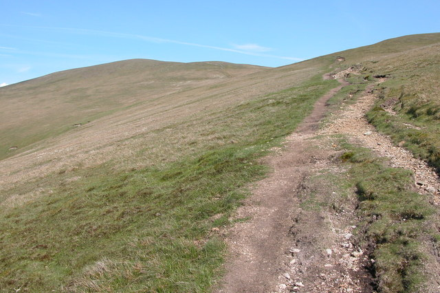 Footpath to Great Dodd