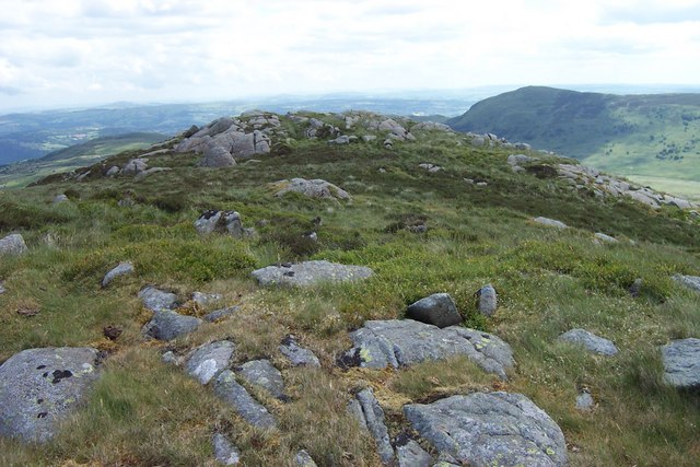 Clogwyn Yr Eryr summit