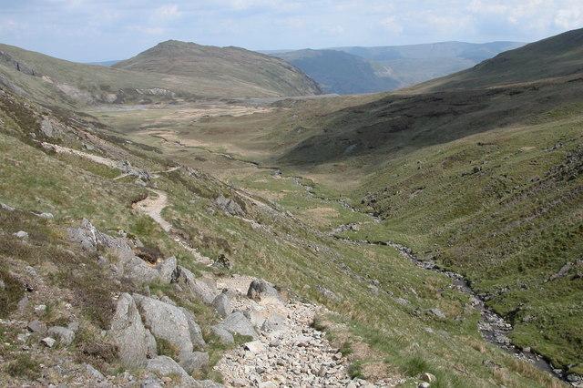 Footpath from Sticks Pass