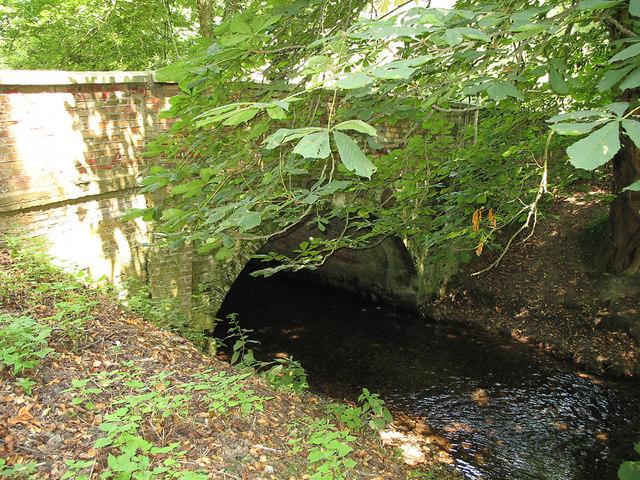 Bridge over the Mimram