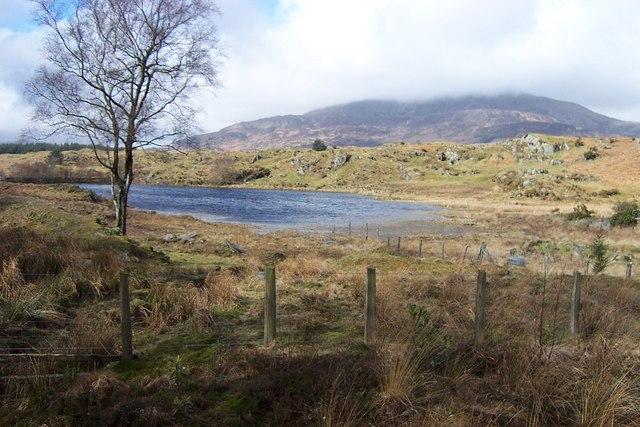 Reservoir near Pont-y-Pant