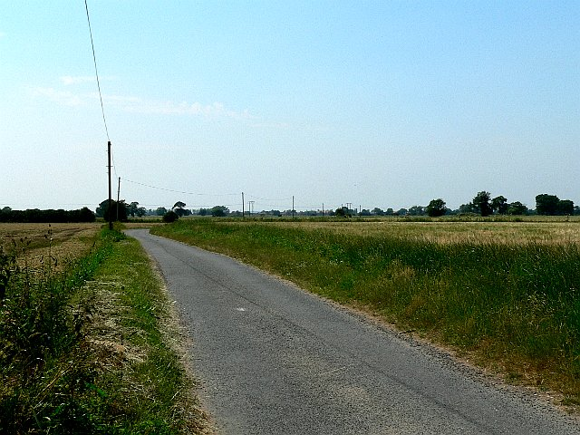 The Road from Holmes House towards South Duffield