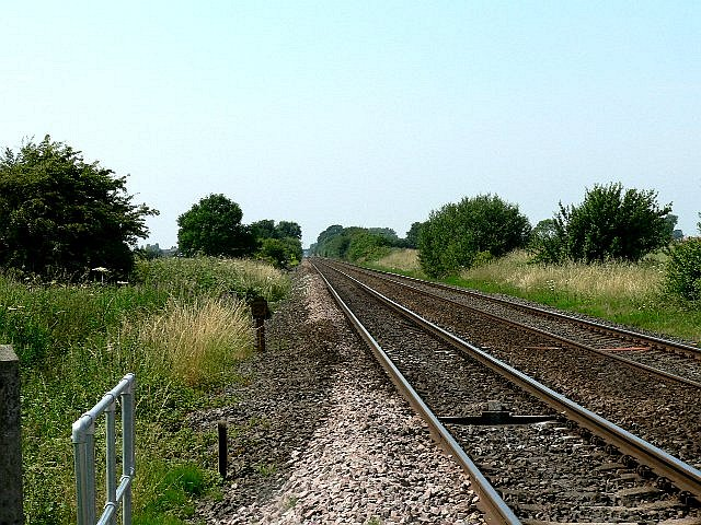 Railway Line to Hull from Selby