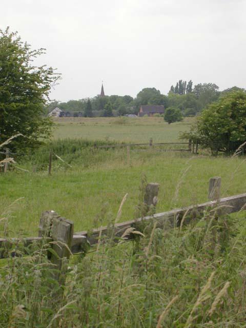 Towards Kislingbury