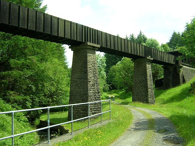 Aqueduct in Loch Ard Forest