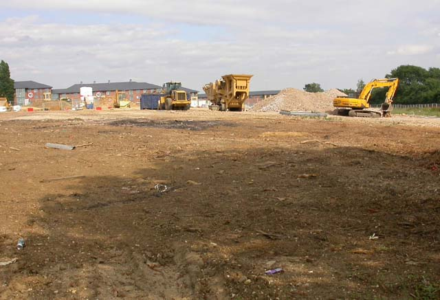 Construction Machinery on Site