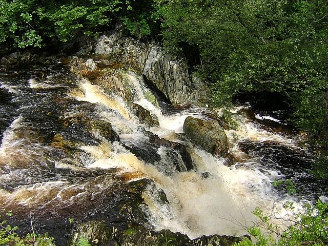 Waterfall on Duchray Water