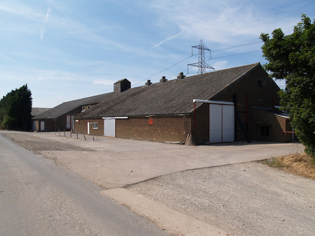 Agricultural Storage Building on the Horkstow Road