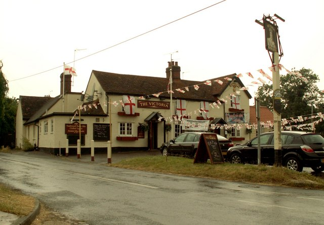 'The Victoria' inn, Powers Hall End, Witham, Essex