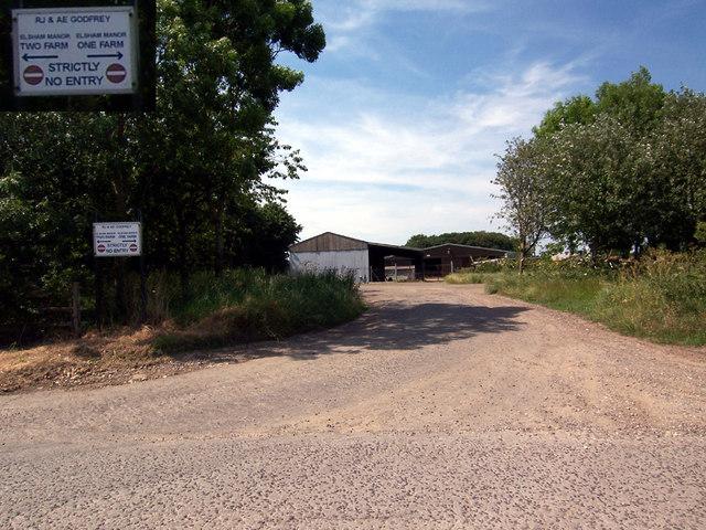 Entry to Elsham Manor Farm No. 1