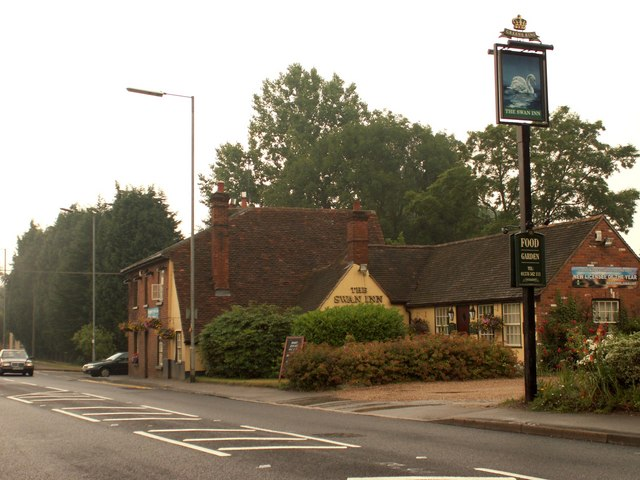 'The Swan Inn', Bradwell, Essex