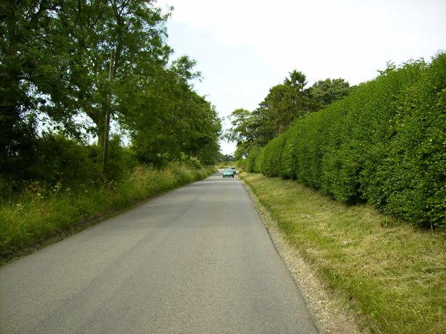 Unclassified road near Irton Moor