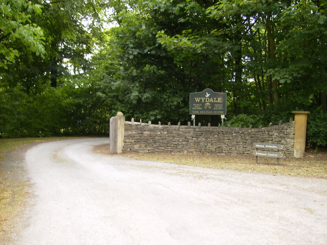Entrance to the York Diocesan Centre at Wydale Hall