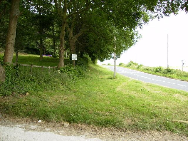 The A170 near Fox Hill Kennels
