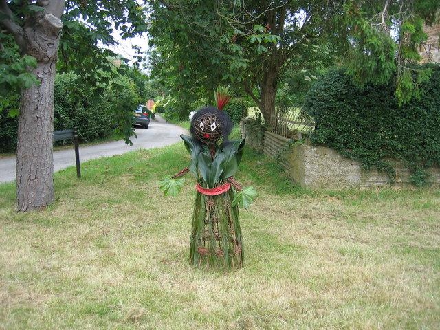 Ethnic scarecrow