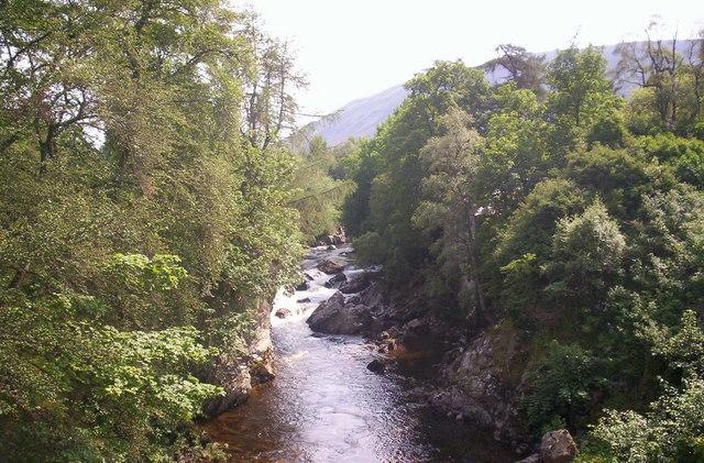 Clunie Water at Braemar