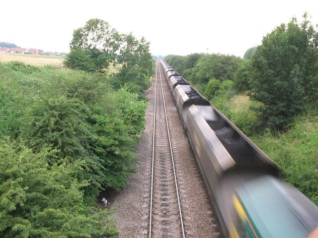 Empty Coal Train