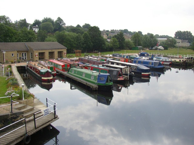 South Pennine Boat Club, Battyeford, near Mirfield, Kirkheaton township