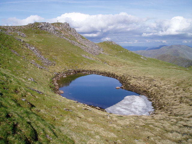 Summit pool on The Saddle