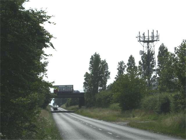 M6 Bridge at Radway Green