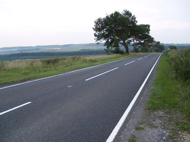 A68 at Fotherley