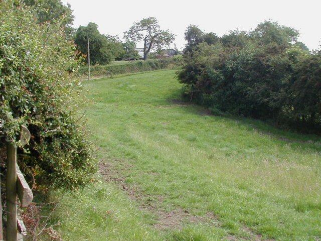 View towards Agden Dairy Farm