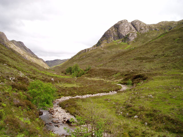 River Glennan and Biod an Fhithich