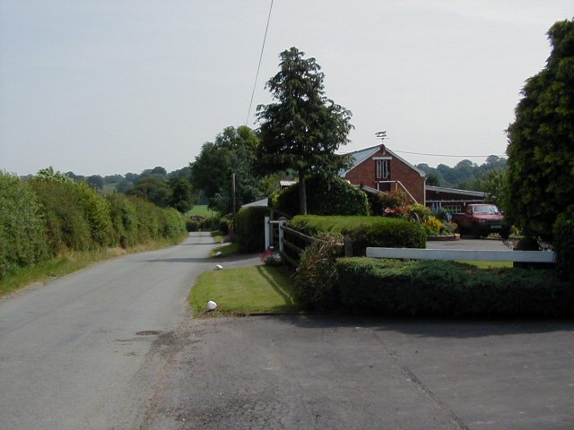 Road towards Lower Wych