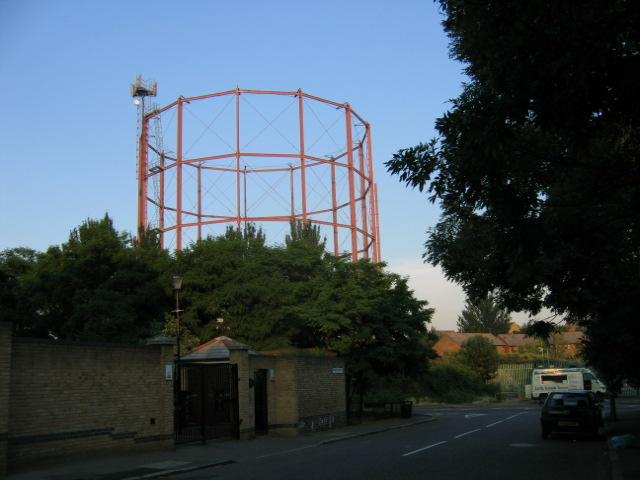 Gasometer, Rotherhithe