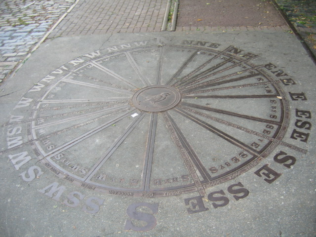 trade compass, Russia Dock Woods