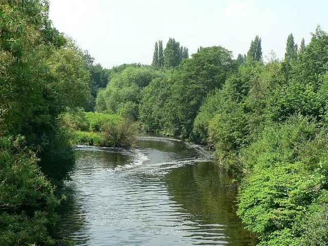 River Aire by Armley Mills Industrial Museum, Leeds