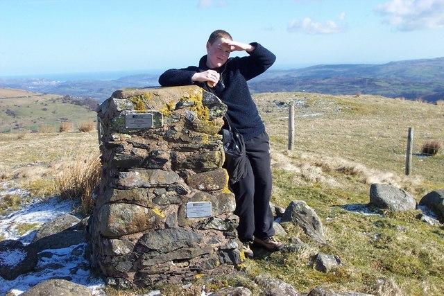 Cefn Cyfarwydd O.S. triangulation pillar