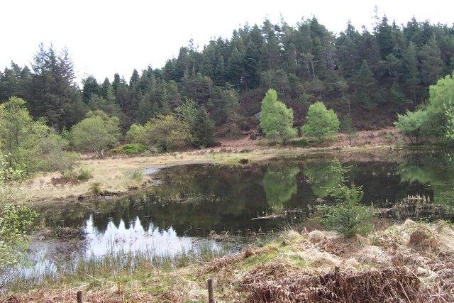 Disused Reservoir near Llyn Y Parc