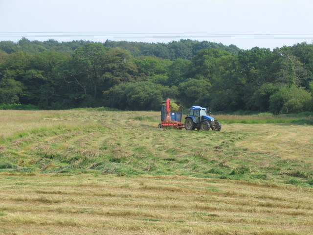 Grass cutting at Lanlivery